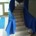 Wrapped Staircase